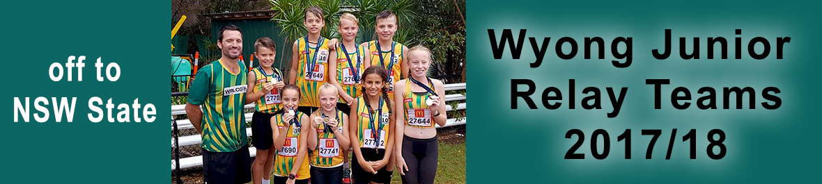 Wyong Little Athletics Relay Teams